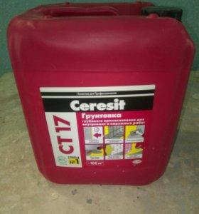 Грунтовка глубокого проникновения Ceresit CT17