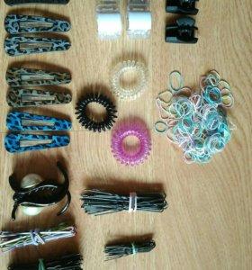 Заколки и резинки для волос
