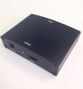 Преобразователь сигнала с VGA на HDMI