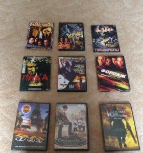 Диски (фильмы и игры)