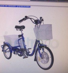 Велосипед трицикл гибрид