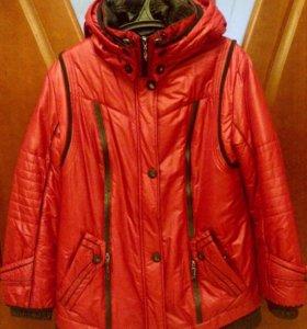 Новая Женская теплая Куртка