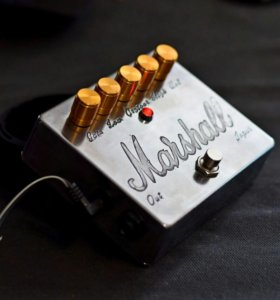 Custom shop distortion Marshall.