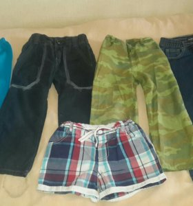 Штаны и джинсы  на мальчика