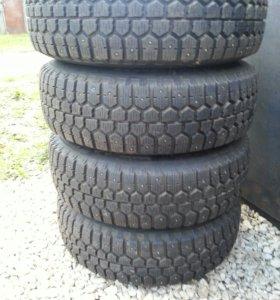 Шип.шины на литых дисках