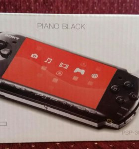 Sony PSP-3008 Piano Black и 15 игр