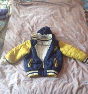 Тёплая курточка на холодную осень- начало зимы
