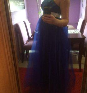 Вечернее шефоновое платье!
