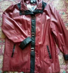 Куртка из кожзаменителя💋