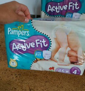 Подгузники Pampers Active fit 4