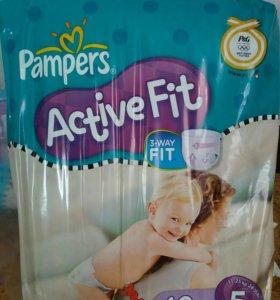 Подгузники Pampers Active fit 5
