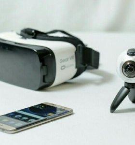 Панорамная камера Gear 360 от Samsung