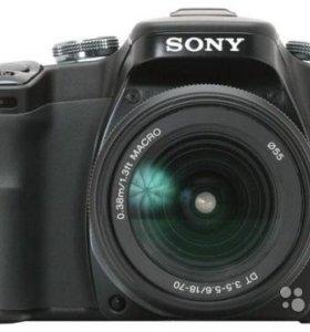 Зеркальный фотоаппарат Sony dslr-A100