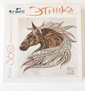 Паззл с лошадью Этника Origami