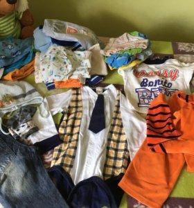 Вещи на мальчика от 1-2 лет