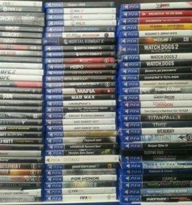Диски для Playstation 4.