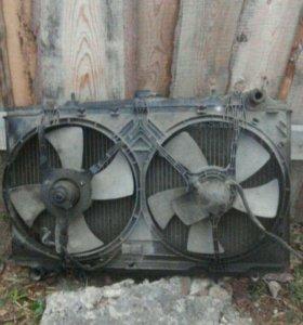 Радиатор от Ниссан прерия.