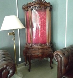Шкаф, Витрина в стиле барокко