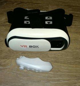 Очки виртуальной реальности VR Box 2.0 + джойстик