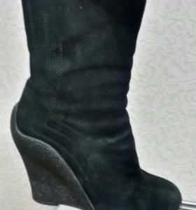 Ботинки 35-36 Calipso замша