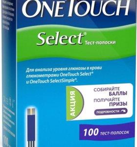 Тест-полоски One Touch Select N100