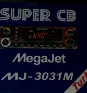 Рация MEGAJET MJ-3031M Turbo