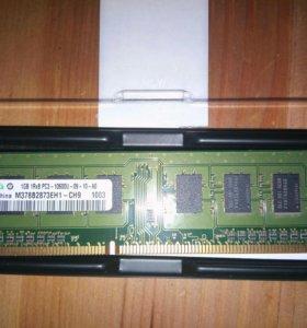 Оперативка DDR3 1 gb
