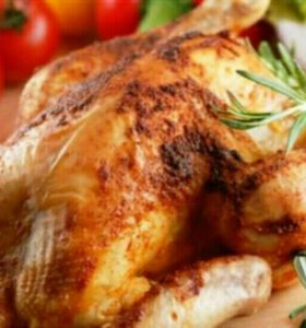 Курица копченая, домашнего горячего копчения