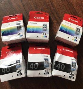 Картридж Canon Pixma 40,41