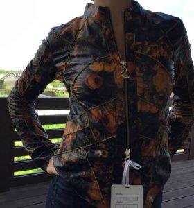 Кожаная куртка ( вторая кожа)