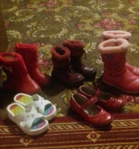 Комплект обуви (5 пар)