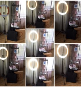 Лампа визажиста