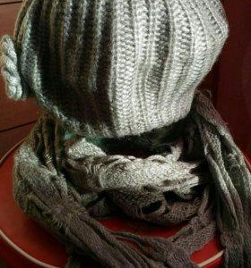 Беретка+шарф