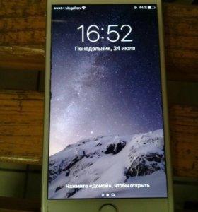 Iphone 6plus silver 16gb