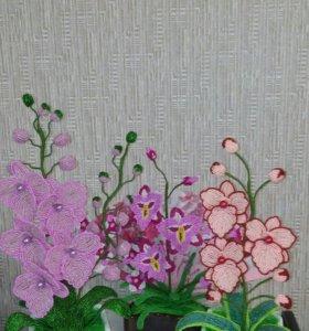 Скидки!!!Цветы из бисера
