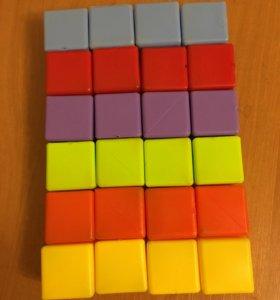 Кубики 24 шт.
