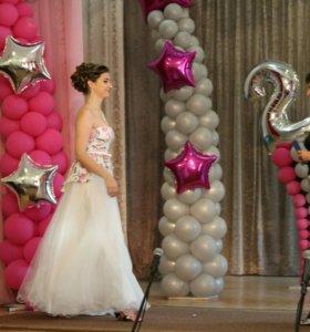 Платье выпускное (свадебное)