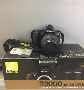 Зеркальная камера Nikon D3000