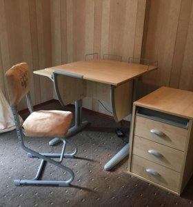 Парта+стул+тумбочка
