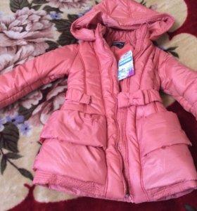 Новое пальто Acoola р.122