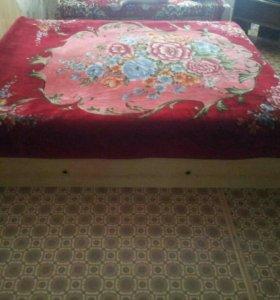 Двухспальнная кровать