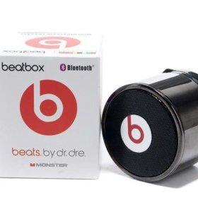 ⭐️Beatbox beats Bluetooth колонка,цвет-черный