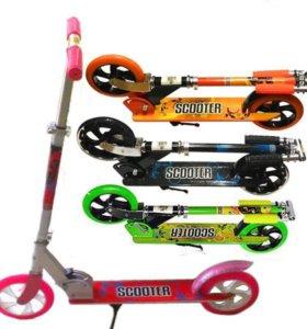 2-х колёсные самокаты 200 мм scooter