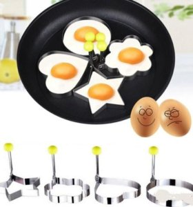 Формы приготовления красивой яичницы