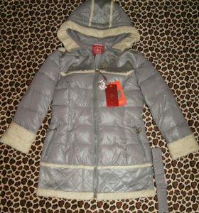 Куртка-полупальто зимнее Новое. Доставка.