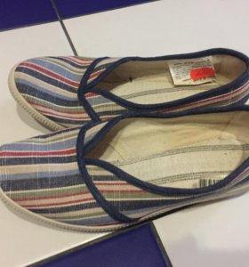 Прорезиненые туфли