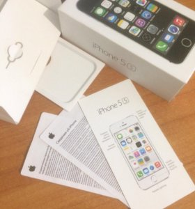 iPhone 5s silver gray 16 gb
