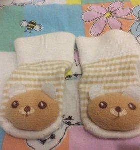 Носочки- медвежата