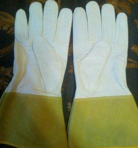 Перчатки сварочные новые. Натуральная кожа(овчина)