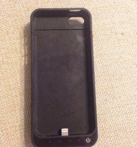 Чехол-зарядка для iPhone 5/5s/5c